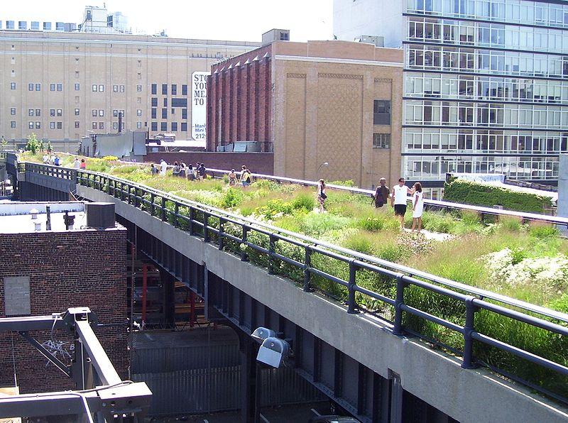 Coulée verte à New York