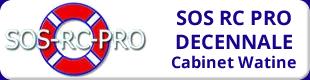 Logo SOS RC PRO Décennale